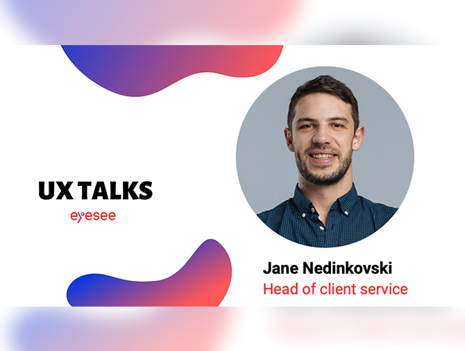 UX Research Talks with Jane Nedinkovski from EyeSee